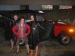 I was not cool enough to wear a superhero bat poncho