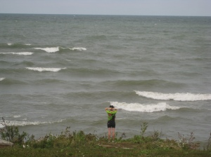 Lake Erie in Cleveland